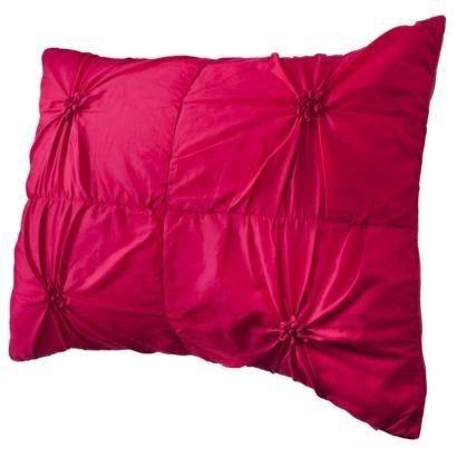 Xhilaration Knot-Style Pink Standard Pillow Sham