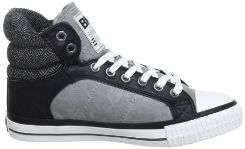 British Knights ATOLL B31-3708 Damen Sneaker Grau (grey/black 4)