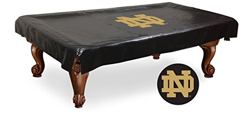NCAA Notre Dame Fighting Irish ND Billiard Table Cover, 8-Feet - Ncaa Pool Table Cover