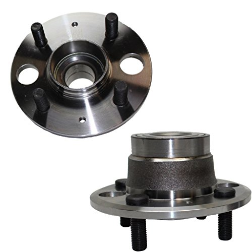 Detroit Axle Rear Driver & Passenger Side Complete Wheel Hub & Bearing Assembly for - 1992-2000 Honda Civic (REAR DISC) - [1993-1997 Honda Civic Del Sol (REAR DISC)] - 1994-1997 Acura Integra (Non-ABS