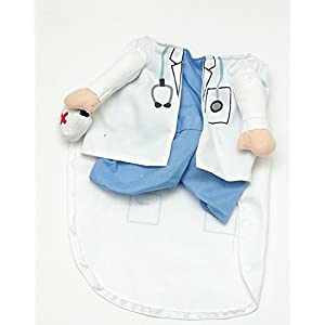 Fake Doctor Arms Costume for Small Dogs by Midlee (Small)
