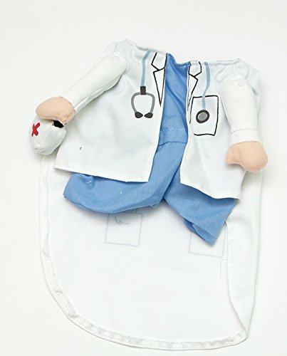 Fake Arms Doctor Dog Costume (Small Dog Medium) by Midlee (Doctor Dog Costume)