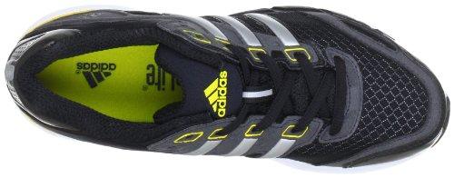 Adidas Supernova Glide 5 xJ Q23795 - Zapatillas para niños Negro (Nero (Schwarz (Black 1 / Metallic Silver / Vivid Yellow S13)))