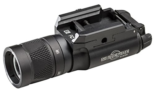 SureFire X300V LED Handgun or Long Gun WeaponLight with  T-Slot Mount and IR Output, Black