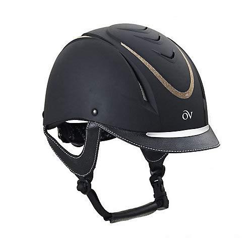 Ovation Z-6 Glitz Helmet Medium/Large Black/Gold