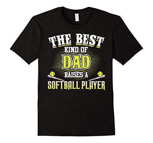 Men's Best T-Shirt For A Proud Dad Of A Softball Player XL - Players Best Softball