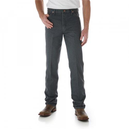 WZ Cowboy Cut Original Fit Jean, Gray, 36W x 34L ()