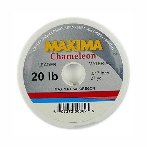 Maxima Chameleon Fishing Line Leader Wheel (20lb Pack of 2)
