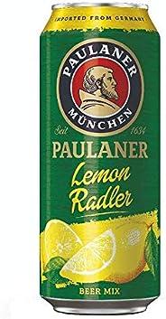 Cerveja Paulaner, Lemon Radler, Lata, 500ml 1un