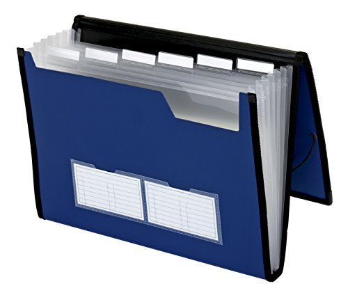 Day Accordion - Pendaflex 7-Pocket File Organizer, Letter, Assorted Colors