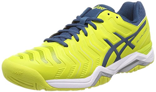 (ASICS Gel Challenger 11 Mens Tennis Shoes - Yellow-12 )