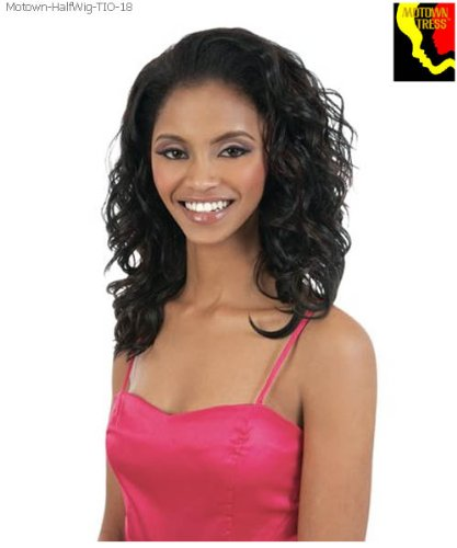 Motown Tress Half Wig Ponytail TIO 18 Color F4/27 ()
