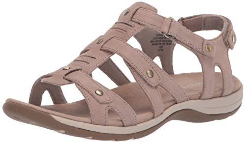 Easy Spirit Women's Sailors Sandal, Taupe, 6 E US -