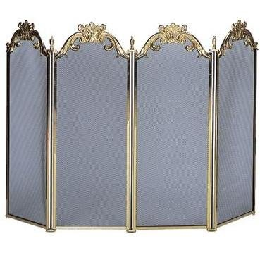 Solid Brass Fireplace - 4