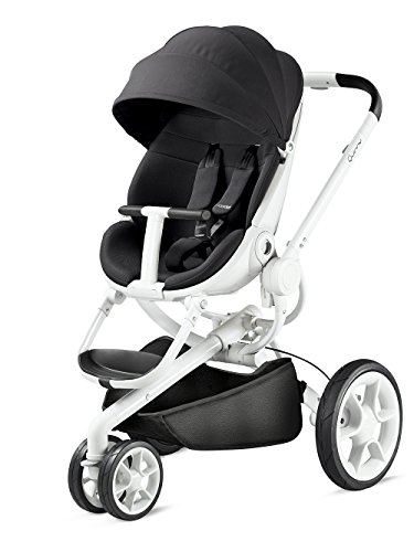 Stylish Pushchair, Unfolds Automatically At A Push Of A Button Quinny Moodd Black Irony 2015