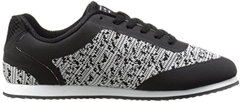 Noi Polo Assn. Womens Nancy-k Fashion Sneaker Nero / Grigio