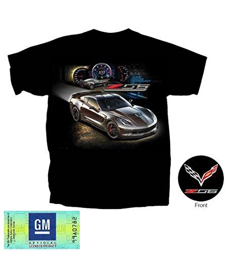 C7 Corvette - Race Proven Z06 Supercharged T-shirt : Black (Large)