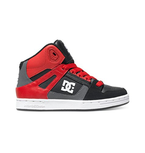 DC Shoes, Sneaker bambini rosso rosso