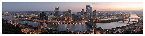 Prestige Art Studios Pittsburgh Skyline Artwork (Prestige Wall Skyline)