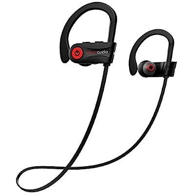 Otium Wireless Headphones, Bluetooth Headphones, Otium Best Sports Earphones, IPX7 Waterproof Stereo Earbuds for Gym Running 9 Hours Playtime Noise Cancelling Headsets