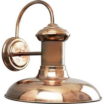 Progress Lighting P5723-14 1-Light Wall Lantern, Copper (Copper Outdoor Light)