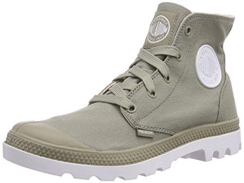 Palladium Blanc Hi, Unisex Adults' Ankle Boots Gray - Grau (Seneca Rock/Wht 382)