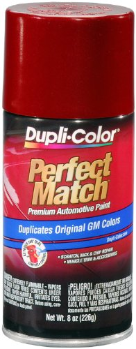Dupli-Color BGM0509 Dark Cherry Metallic General Motors Exact-Match Automotive Paint - 8 oz. Aerosol ()