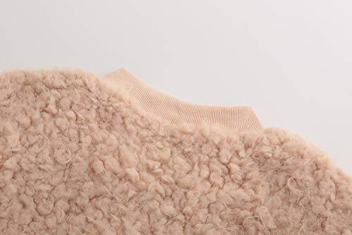 pink Donna Lunga Giacca Beige D Manica Oq4xS
