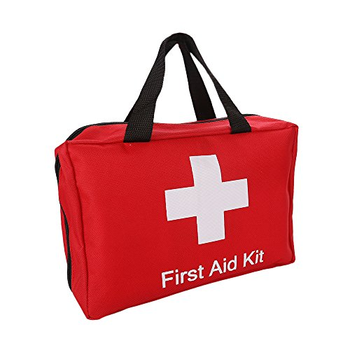 SadoMedcare First Aid Kit Large, For Any Emergency or Situation, With Easy Carry Handle, 212 pieces Medical Kit, Travel Emergency Kit, Hiking First Aid Kit, Emergency Survival Go Bag