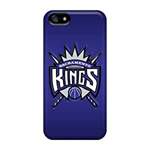 Hot New Sacramento Kings Case Cover For Iphone 5/5s With Perfect Design