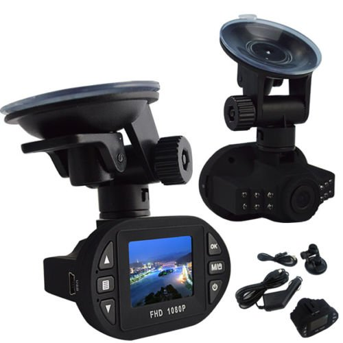 1080P 2.4inch Car DVR Camera Video Recorder (Blue) - 9