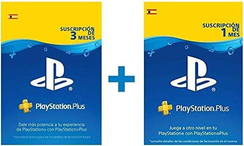 PlayStation Plus Suscripción 4 meses | Código de descarga PSN - Cuenta española: Amazon.es: Videojuegos