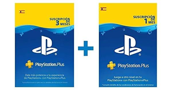 PlayStation Plus Suscripción 4 meses | Código de descarga ...