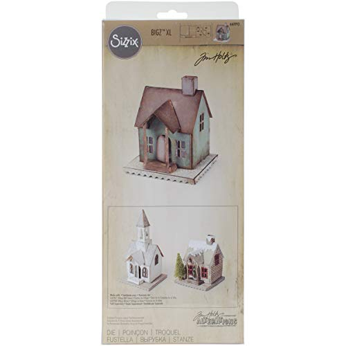 Sizzix 660992 Bigz XL Die Village Dwelling by Tim Holtz, X-Large