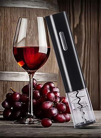 YYIXING Abrebotellas Automático de Sacacorchos de Vino Abridor de Botellas de Vino Eléctrico Inalámbrico Portátil para El Hogar con Tapones de Vacío Cortador de Papel de Aluminio