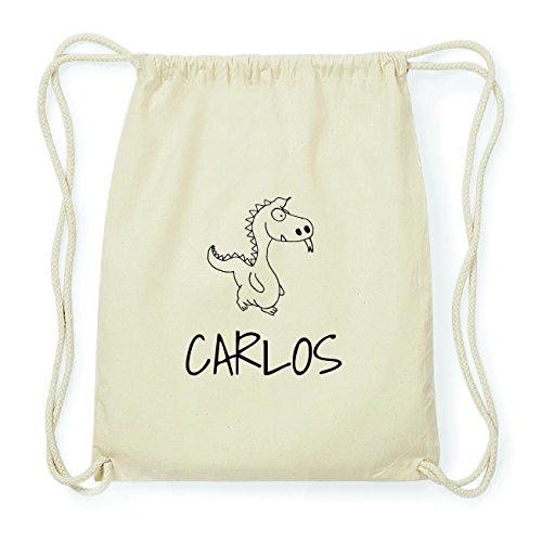 JOllipets CARLOS Hipster Turnbeutel Tasche Rucksack aus Baumwolle Design: Drache sEmjU0sQ