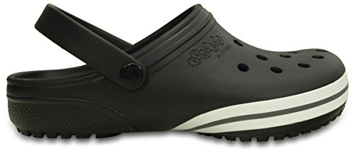 Crocs Jibbitz kilby Clog Black Relaxed Fit Unisex Mens 8/Womens 10 by Crocs (Image #3)