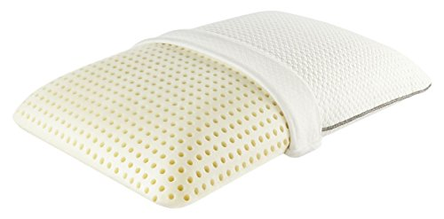 Comfor Pedic Simmons Beauty Rest Free Spirit Traditional Shape Ventilated Pillow, AirCool Memory Foam, 6