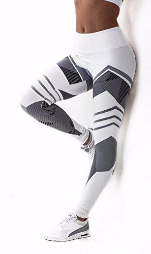 - 41eysqNKK6L - CFR Women Fitness Leggings Sport Workout Yoga Pants New Geometry Print