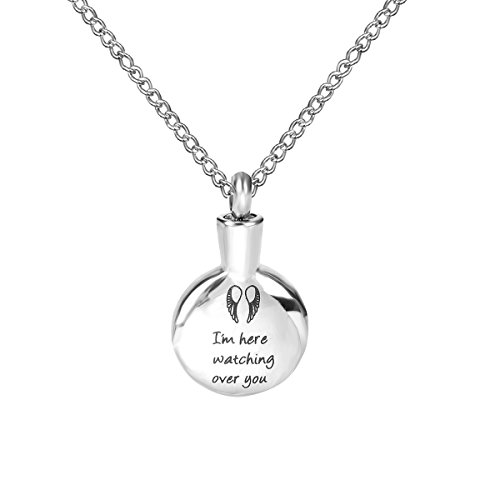 ZARABE Cremation watching Memorial Necklace