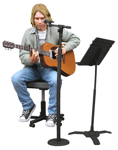 Nirvana - Action Figure: Kurt Cobain [Unplugged] 1993