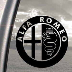 alfa romeo black decal truck bumper window vinyl sticker car motorbike. Black Bedroom Furniture Sets. Home Design Ideas