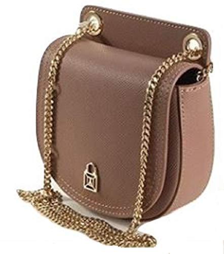 Minibag 15 Patrizia Leather Borsa Pepe Noisette Cm Bag Shoulder HxYZExq