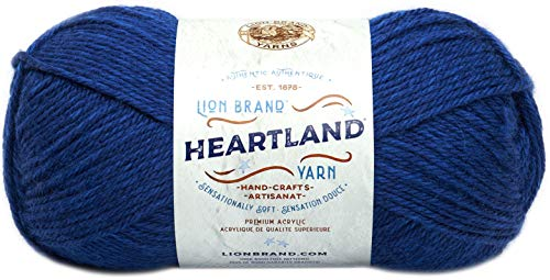 Lion Brand Yarn 136-110 Heartland Yarn, Lake Clark