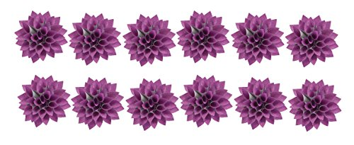 The Gift Wrap Company 12 Count Decorative Glitterati Lotus Bows by The Gift Wrap Company
