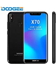 DOOGEE X70 – Smartphone 5.5 Inch Screen, Android 4000mAh Battery, Dual Rear Cameras, Face Detection + Fingerprint 8.0 SIM Free Mobile Phone 2GB/16GB