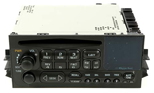 Truck Oem Parts Cd - 1 Factory Radio AM FM CD Player Radio Compatible With 1995-05 Chevrolet Truck 15766258