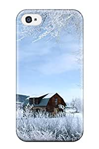 Beautifulcase Aarooyner case cover For Iphone 4/4s With Nice i40Pfq90Eti House Appearance