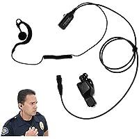 Falcon EP323QR Quick Release Lapel Microphone for Motorola XTS5000 XTS3500 XTS3000 XTS2500 XTS1500
