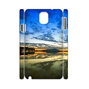 3D Samsung Galaxy Note 3 Case,Nature Sky Landscape Hard Shell Back Case for White Samsung Galaxy Note 3